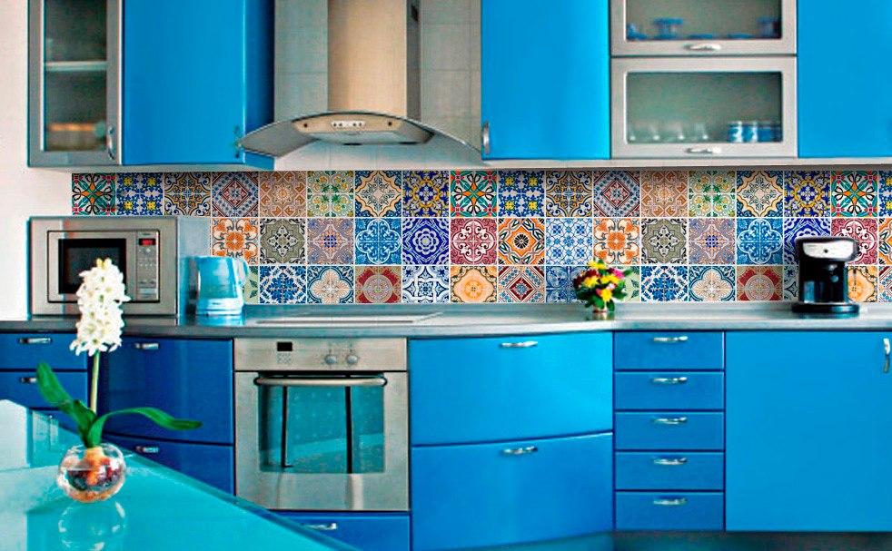 Tend ncia em decora o adesivo de azulejo portugu s for Azulejo 15x15